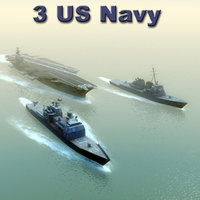 USNavy x3 Carrier Strike Group
