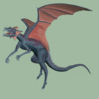imagination dragons 3d model