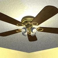 lighted fan 3ds