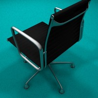 3d model executive office chair