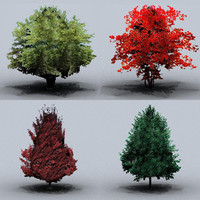 small trees 3ds