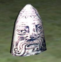 ancient scythian tomb stone 3d model