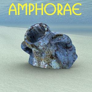 reconstruction roman amphora 3ds