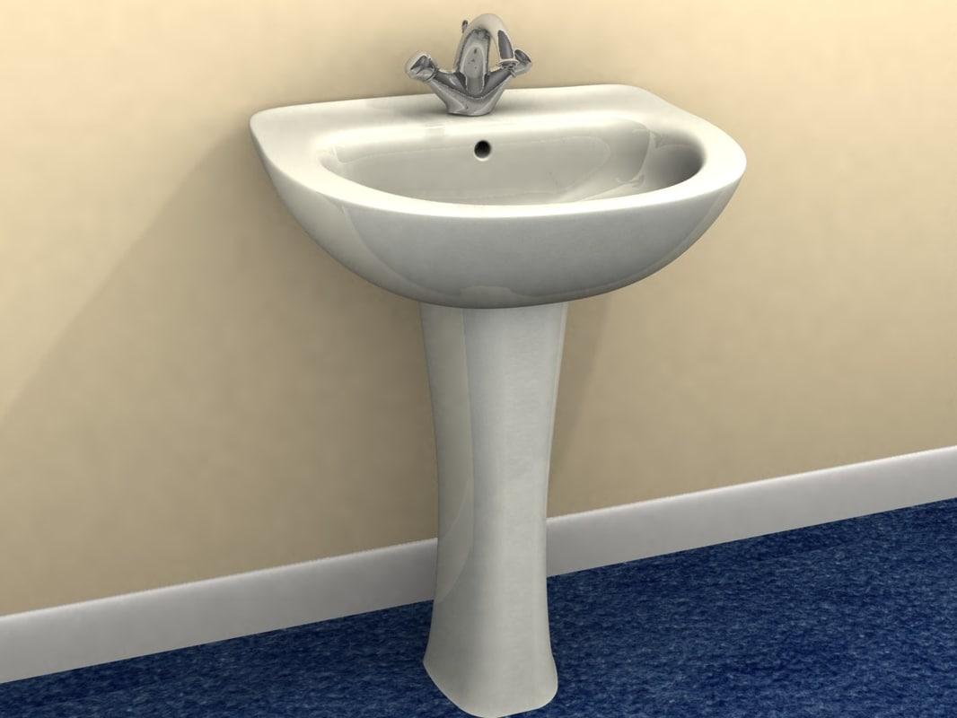 Sink Tap Modell : D bathroom sink tap model