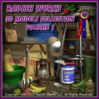 Radishworks Model Collection, V1
