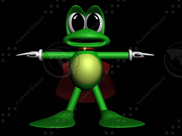 cartoon frog max