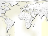 globe maps 3d model
