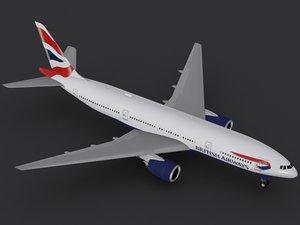 3ds b 777-200 british airways