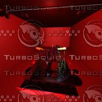 drumset 3d max