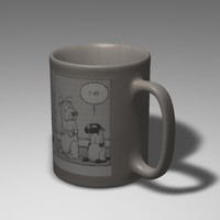 cinema4d coffee mug