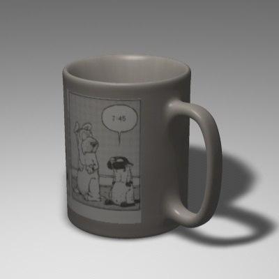 cinema4d coffee mug