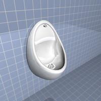 max urinal bathroom man
