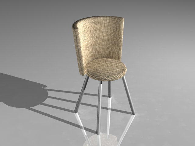 3d model cool chair