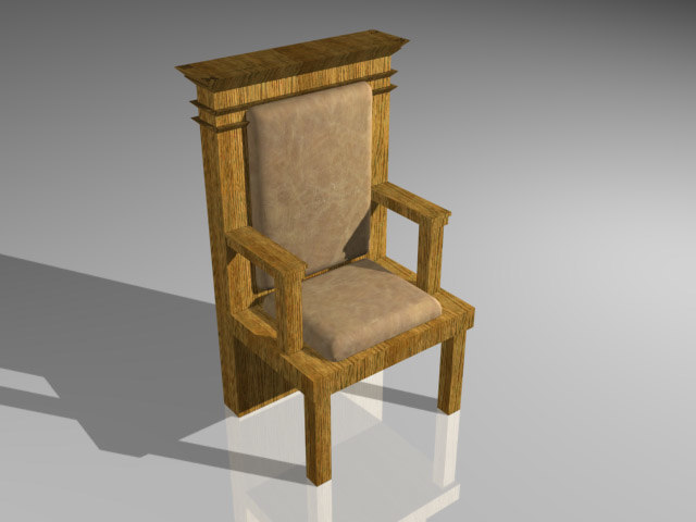 chair grand 3d 3ds