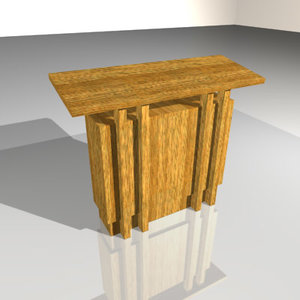 3d podium speaker church