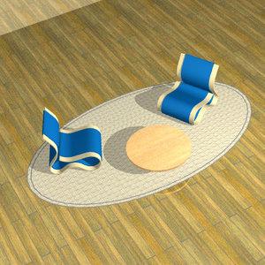 chairs strange 3d lwo
