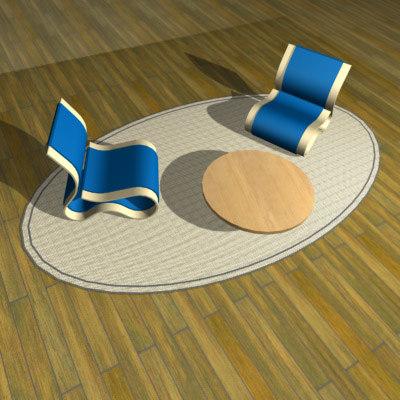 3ds max chairs strange