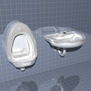 lightwave urinal sink