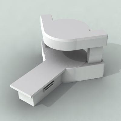 3d mri scanner model