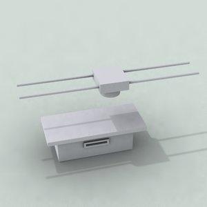 scanner xray 3d model