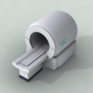 3d model mri scanner