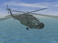 3d model uh60 blackhawk helicopter