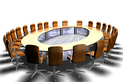 lightwave large conference meeting table
