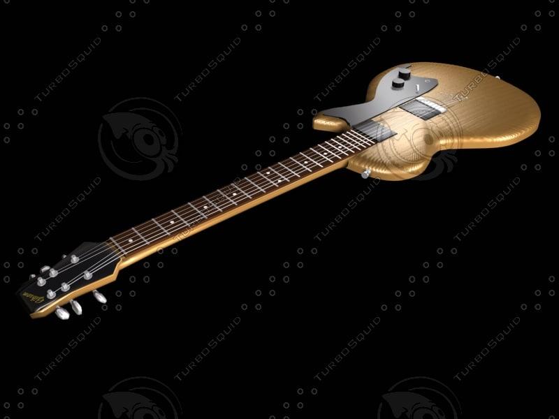 3d model of guitar