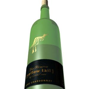 maya chardonnay wine bottle