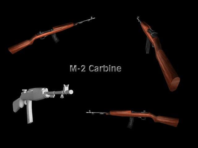 m-2 carbine 3d 3ds