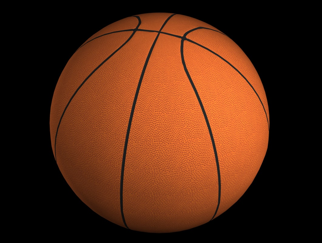 ball basketball 3d model