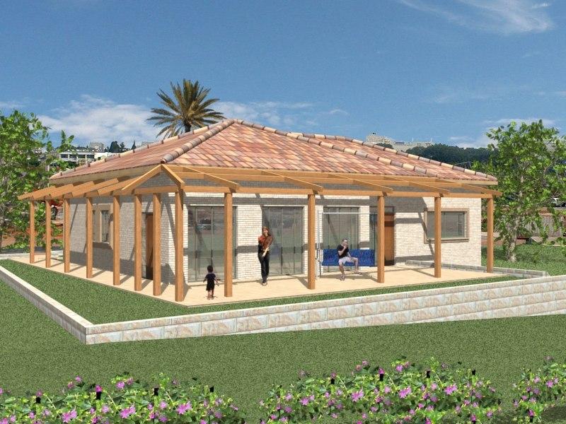 viz architectural house 3d model