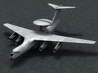 3d a50 mainstay aircraft model