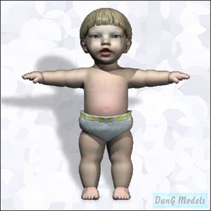child head eyes 3d cob