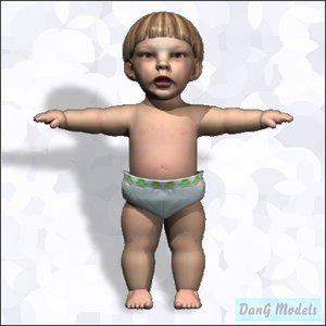 truespace child head eye