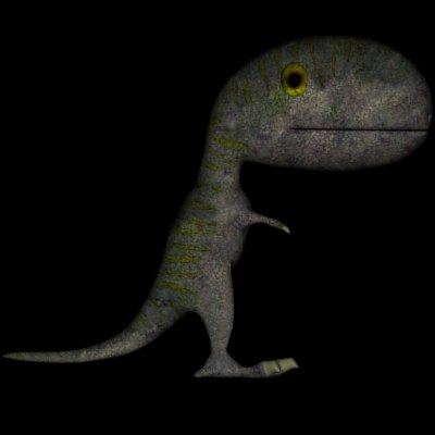 3ds small dino