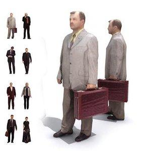 humans people 3d model