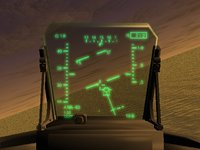 fighter aircraft hud 3d model