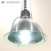 3d 3ds ceiling lamp