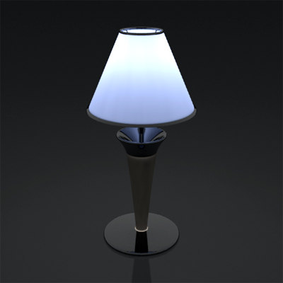 3d of lamp wave