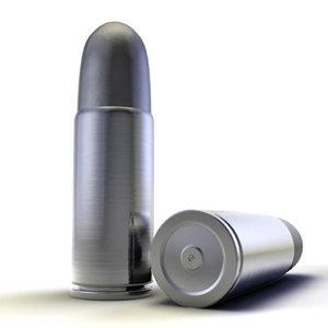 bullet lightwave 3d model