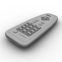 3d remote lightwave model
