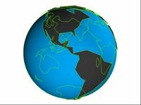 globe sea 3d 3ds