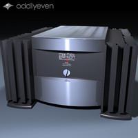 levison amp 3d model