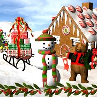 Holiday models for 3d studio max.zip
