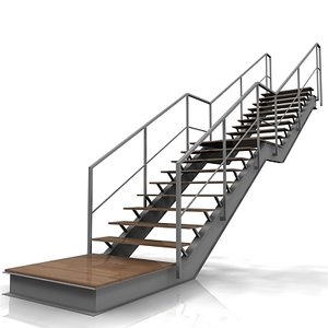 staircase stair 3d model