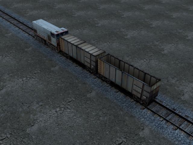 3d locomotive rails games