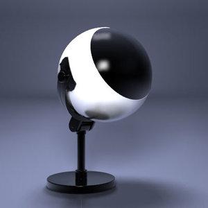 tv image scifi 3d model