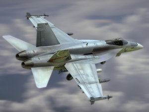navy fa18e fighter 3d model
