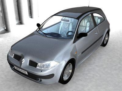 renault megane 2002 3ds